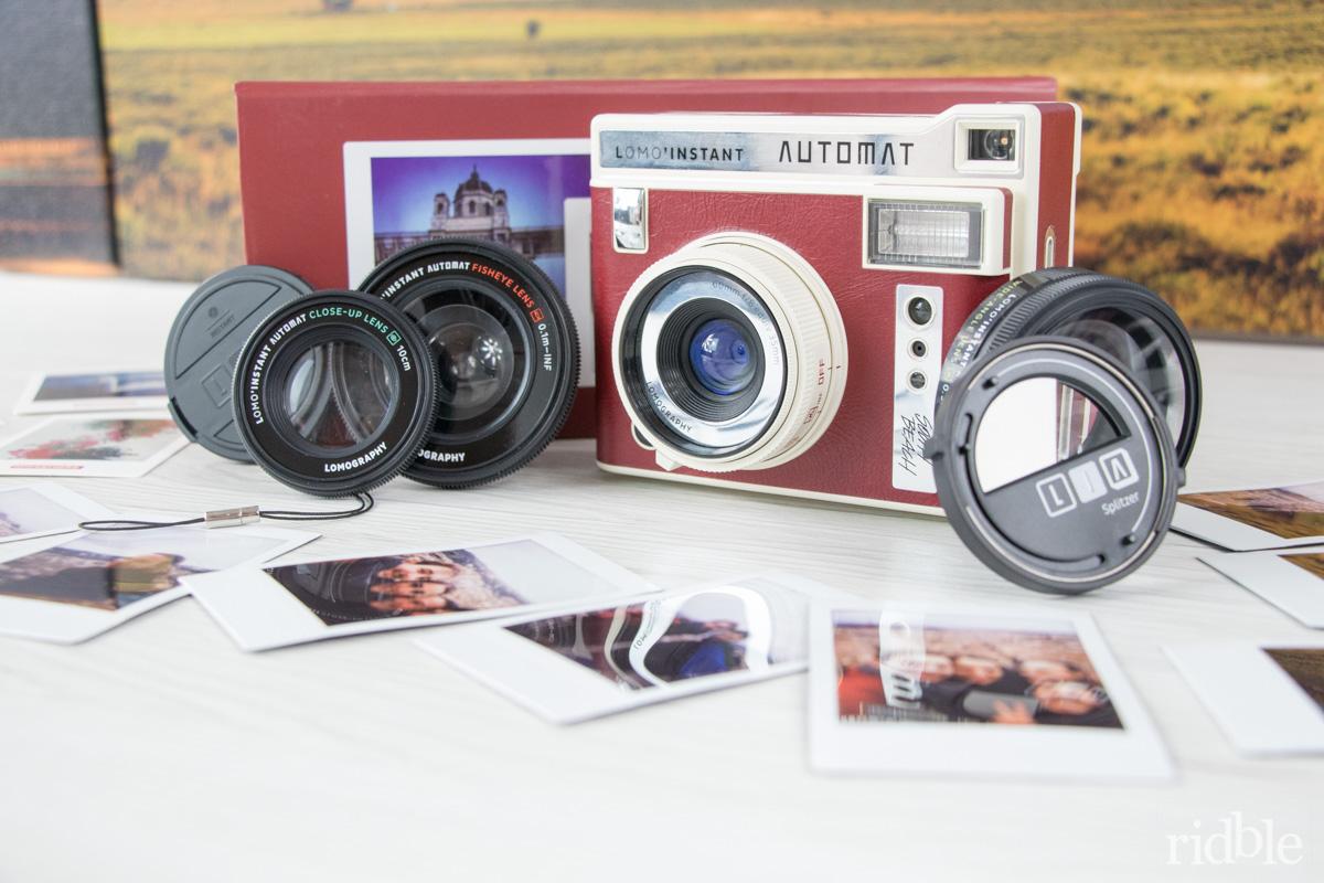 Lomography Instant Automat & Lenses South Beach